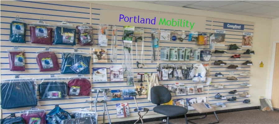 Showroom of Mobility Aid Accessories