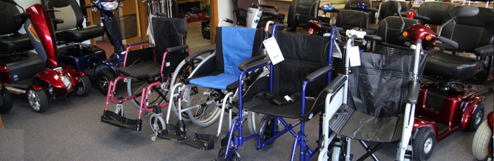 Image showing a range of  wheelchairs